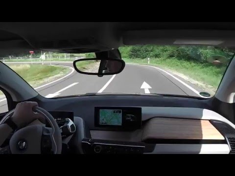 BMW i3 Rundfahrt