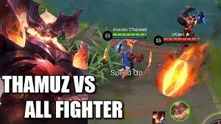 Video THAMUZ VS ALL FIGHTER HERE WE GO! MP3, 3GP, MP4, WEBM, AVI, FLV September 2018