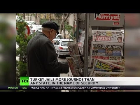 Jail for Journos: Turkey leads lock-ups for reporters