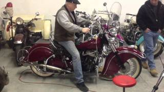 4. 1951 Indian chief for sale