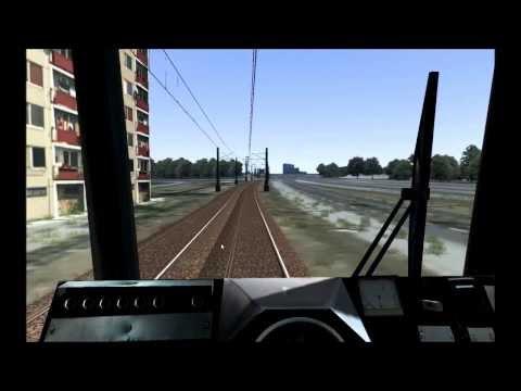 RailWorks 3 - symulator tramwaju - przejazd składem 105Na z Chorzowa do Katowic