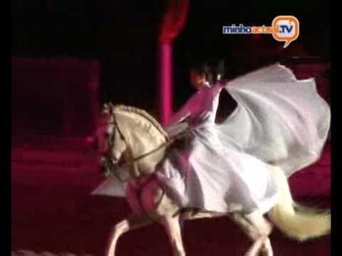 """Reportagem da """"MinhoActual.TV"""" sobre a Gala Equestre da I Feira do Cavalo de Ponte de Lima, que c..."""