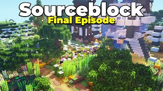THE END of the Sourceblock SMP Season 1 Server : World Tour and Download
