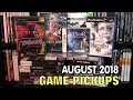 Video Game Pickups august 2018