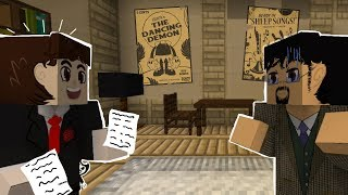 SAMMY LAWRENCE! Minecraft BENDY AND THE INK MACHINE (Minecraft Roleplay)