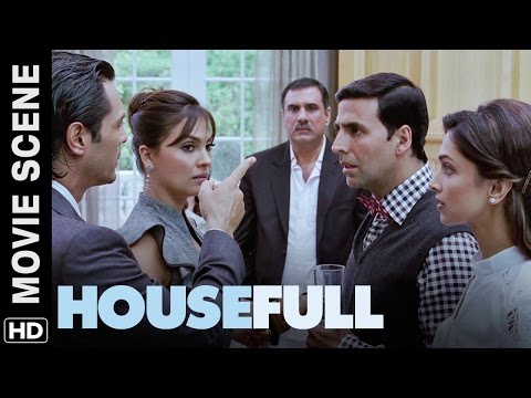 Maine Tumhe Kahin Dekha Hai? Housefull | Movie Scene