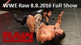 Nonton Wwe Raw     Wwe Monday Night Raw 8th August 2016 Full Show Film Subtitle Indonesia Streaming Movie Download