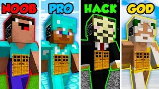 Minecraft Noob Vs Pro Vs Hacker Vs God Giant Living House In Minecraft Animation Minecraftvideos Tv