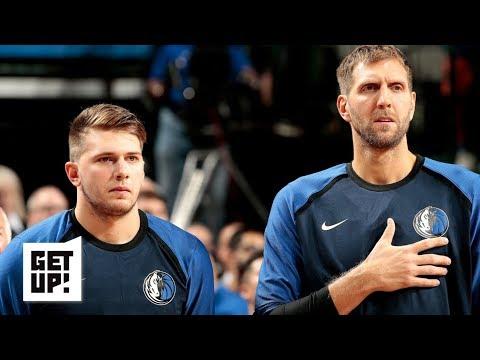 Video: Dirk Nowitzki's influence on Luka Doncic, Spurs' strange season   Get Up!
