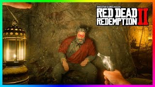 What Happens If You Get Up To The Devil's Hiding Spot At His Cave In Red Dead Redemption 2? (RDR2)