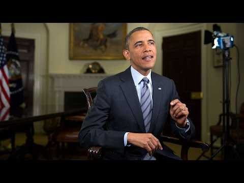 Obama tells Congress to give the American people a raise in weekly address