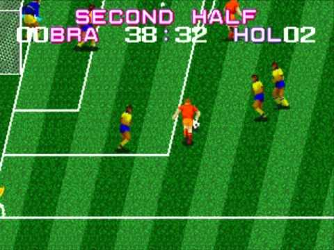 Tecmo World Cup Megadrive