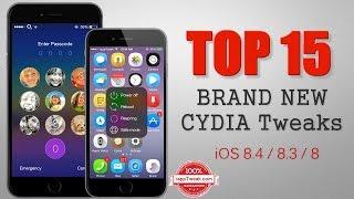 TOP 15 BRAND NEW Cydia Tweaks For iOS 8.4/8.3/8 – Pangu/TaiG Jailbreak, ios 9, ios, iphone, ios 9 ra mat