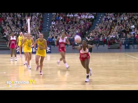 International Netball - England vs Australia Third Test Highlights