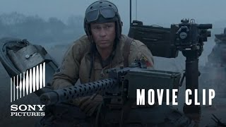 Nonton Fury Movie Clip  Sherman Tiger Fight Film Subtitle Indonesia Streaming Movie Download