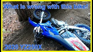 2. Test Riding a 2020 Yamaha YZ250X - Didn't Like it That Much