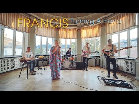 Francis - Turning A Hand (Acoustic session by ILOVESWEDEN.NET)