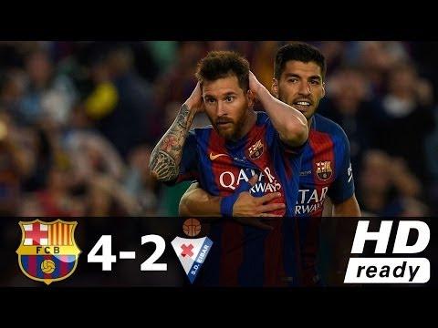 Barcelona vs Eibar 4-2 - All Goals & Extended Highlights - La Liga 21/05/2017 HD