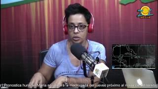 Zoila Luna llama a tomar precaución por el paso del Huracán María por el país