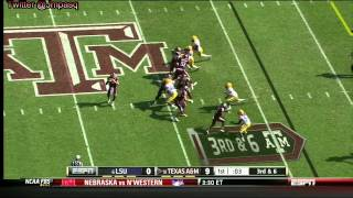 Luke Joeckel vs  LSU Defense  (2012)