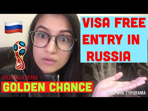 Visa Free Entry In Russia| Fifa World Cup 2018| Thanking You For 2k Subscribers