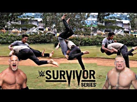 Goldberg Vs Brock Lesnar Full Match | Mega Match 2016 | Survivor series Goldberg vs Brock lesnar