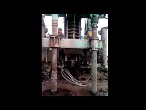 Thi công cọc xi măng đất trộn ướt tại Cảng Cái Mép - Thị Vải ( Cement Deep Mixing Construction)