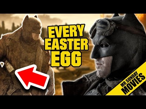 Easter Eggs and References in Batman v Superman