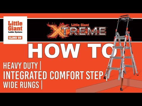 little giant ladders - This video is about Tactical ladder Demo.
