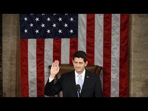 ΗΠΑ: Αλλαγή φρουράς στη Βουλή των Αντιπροσώπων – Νέος πρόεδρος Πολ Ράιαν