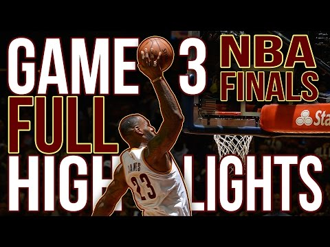 Warriors vs Cavaliers: Game 3 NBA Finals - 06.08.16 Full Highlights