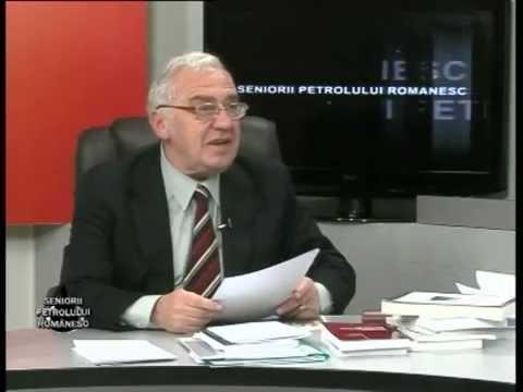 Emisiunea Seniorii Petrolului Românesc – Ionel Nicu Sava – 13 decembrie 2014