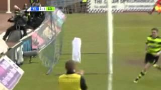 Robbie Keanes Treffer für Celtic