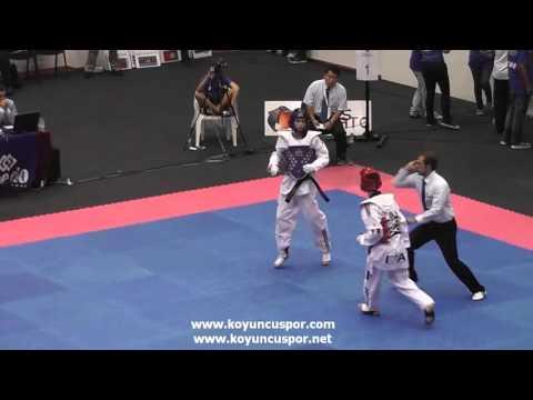 55kg Quarterfinal Kyliann BONNET FRA vs ITA LAGAN Gabrila (видео)