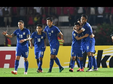 Match highlights: Myanmar 0-2 Thailand