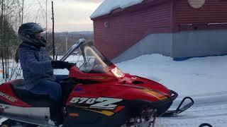 1. 2005 Z570 LX Arctic Cat   Winter of 2K17-18