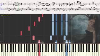 Memory - Andrew Lloyd Webber (Ноты и Видеоурок для фортепиано) (piano cover)