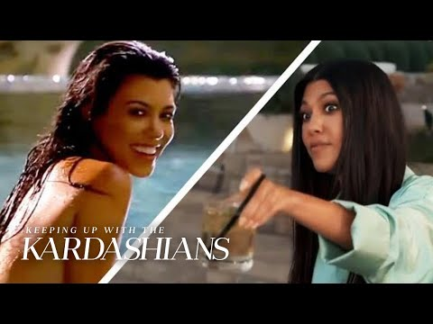 "Kourtney Kardashian's Walk Down Memory Lane on ""KUWTK"" | KUWTK | E!"