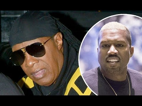 TMZ: Stevie Wonder calls out Kanye West for slavery remarks