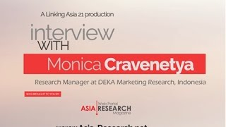"""Interview with Monica Cravenetya, Research Manager at DEKA Marketing Research (Indonesia) after her presentation """"Taking Games Seriously - Changing rules for..."""