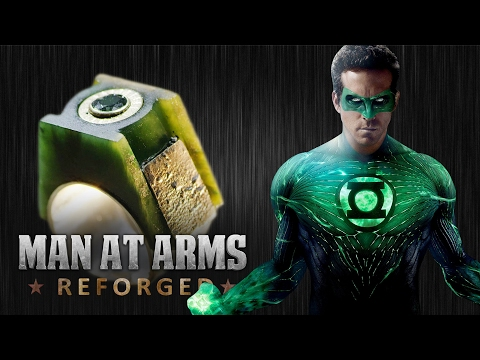 Green Lantern Power Ring made by MAN AT ARMS