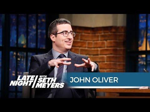 John Oliver Is In Awe Of The Super Bowl