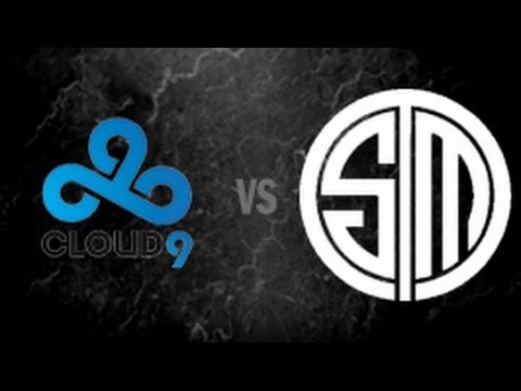 [LCS NA 2014 Spring Grand Finals] C9 vs. TSM (g3)