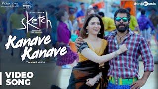 Video Sketch | Kanave Kanave Video Song | Chiyaan Vikram, Tamannaah | Thaman S MP3, 3GP, MP4, WEBM, AVI, FLV April 2018