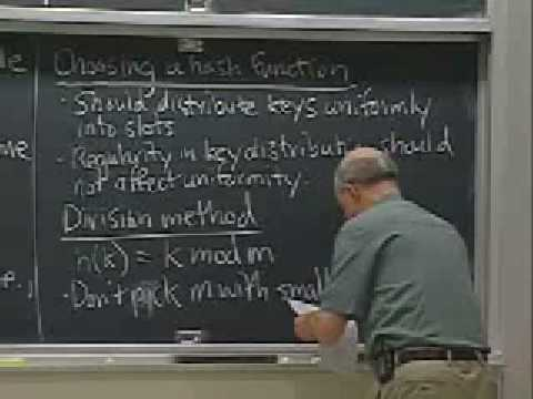 Lec 7 | MIT 6.046J / 18.410J Introduction to Algorithms (SMA 5503), Fall 2005