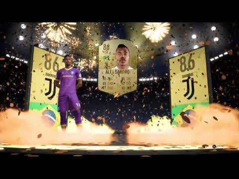 FIFA 19 - Packed Alex Sandro!!!