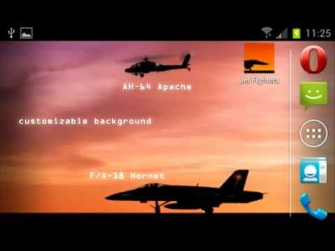 Video of Jet Fighters -Live- Wallpaper