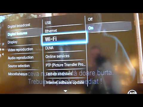 Philips service menu guide