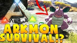 CATCHING CHARIZARD - ARK SURVIVAL EVOLVED POKEMON MOD (ARKMON) #7