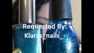 Thank you, Klara, for this request! Youtube: https://www.youtube.com/channel/UCSsoTy1V2v6mvn6Nhfs2nSw IG: @klaras_ nails_ Polishes Compared: Sinful Colors Na...